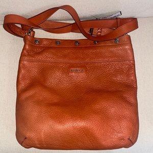 Furla crossbody orange bag
